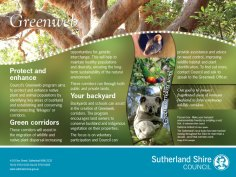 Sutherland Shire environmental signs