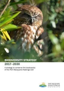 Biodiversity Strategy Report