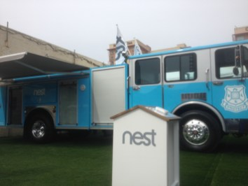 The Nest Firetruck at SXSW