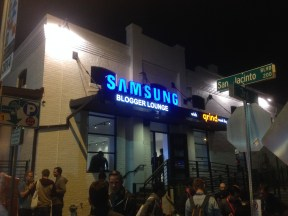 The Samsung Blogger Lounge at SXSW
