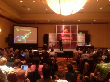 The MentorMob presentation at the SXSW Accelerator