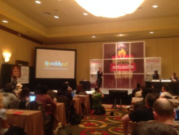 Viddyad presentation at the SXSW Accelerator
