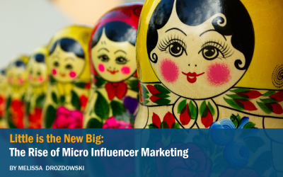 Little is the New Big: the Rise of Micro Influencer Marketing, Part I