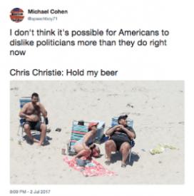 Gov. Christie Social Media Fail