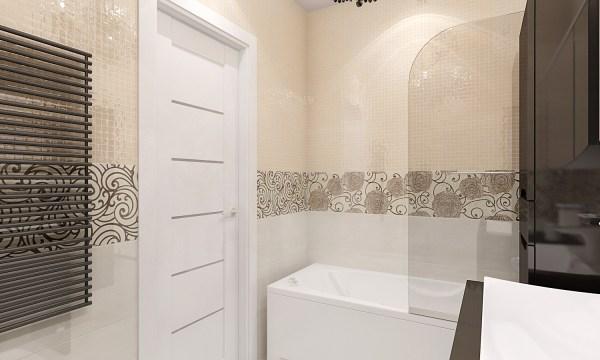 Рисунок Плитки В Ванной Комнате Фото