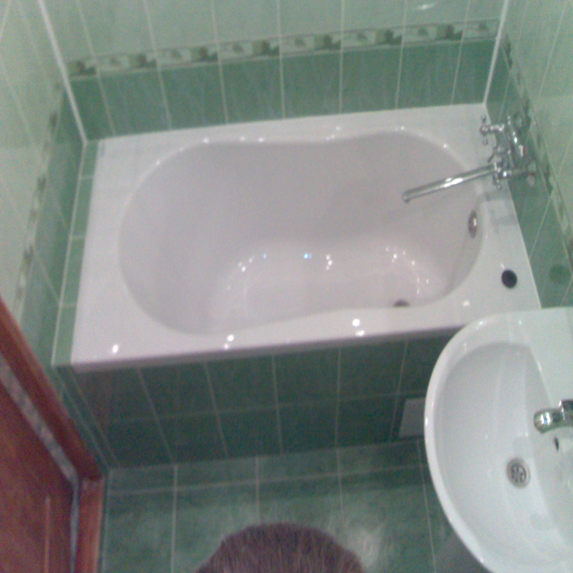 дизайн очень маленькой ванной комнаты 5