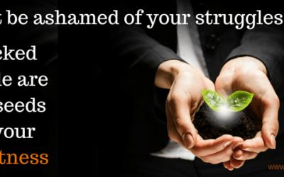 The Weekly Word: Struggle