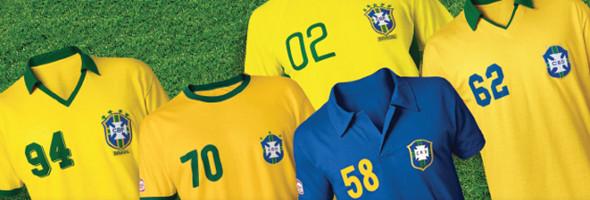camisa da Seleção Brasileira Guaraná Antarctica