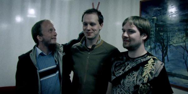 os fundadores do The Pirate Bay: Gottfrid, Peter e Fredrik