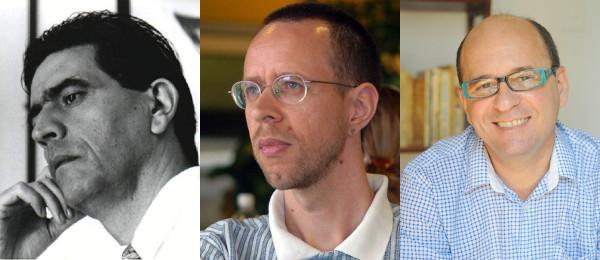Wilson Bueno, Nelson de Oliveira e Luiz Ruffato