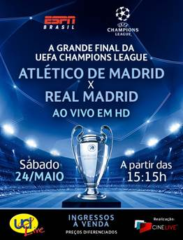 Final UEFA - UCI Cinemas