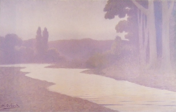 Alphonse Osbert, o pintor do silêncio (La Riviére, 1890)