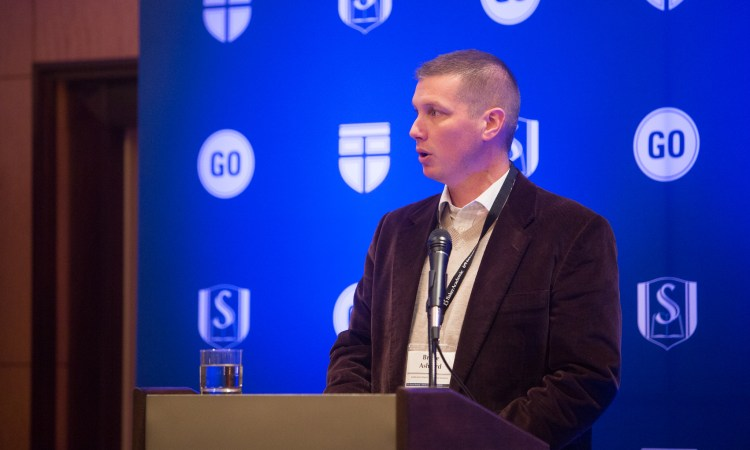 "Bruce Ashford: ""The Gospel Helps Us Transcend Political Partisanship"""