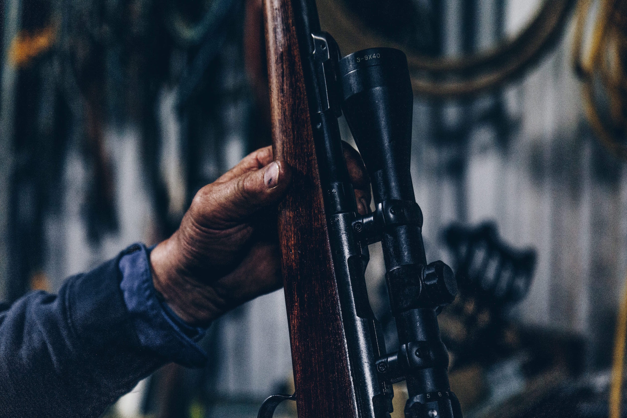 Law and Gospel and Gun Control. (credit: Christopher Burns / Unsplash)