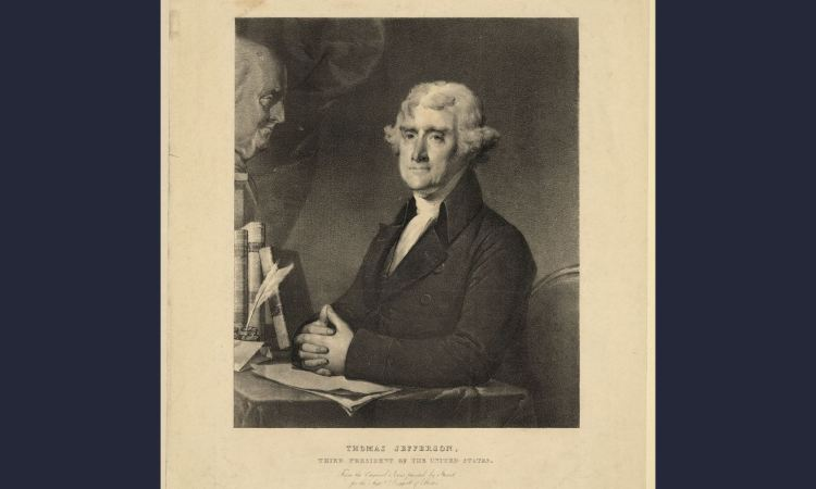Thomas Jefferson (credit: library of congress)