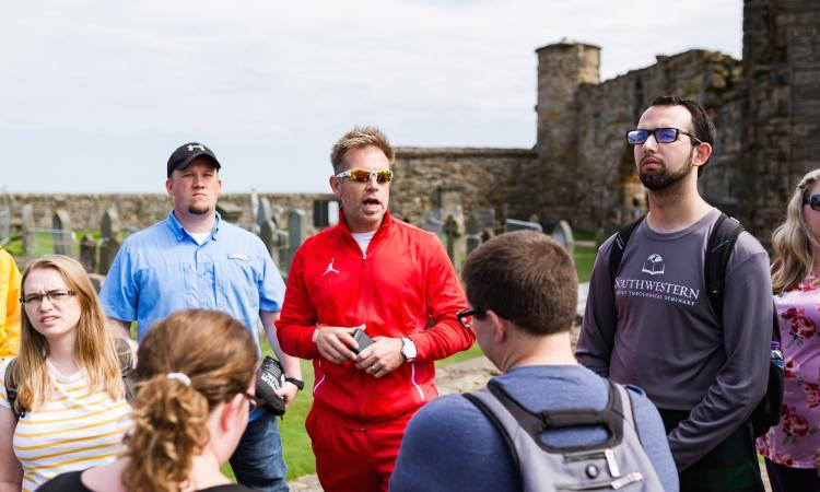 St. Andrews Cathedral | Oxford Study Tour (Rebecca Hankins)