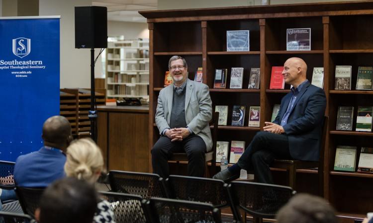 Lee Strobel and Ken Keathley at SEBTS