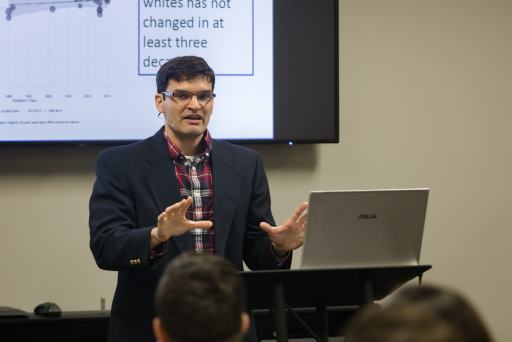 Neil Shenvi: Are Social Justice, Critical Theory, and Christianity Compatible? (credit: Rebecca Hankins at SEBTS)
