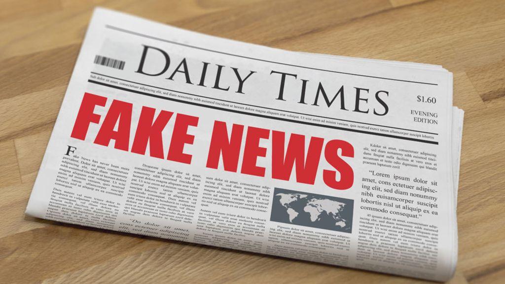 95159158 fakenews - Schools should teach pupils how to spot 'fake news'