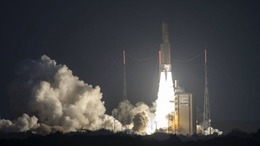 95240994 mediaitem95240993 - Spaceport protest delays rocket launch in French Guiana