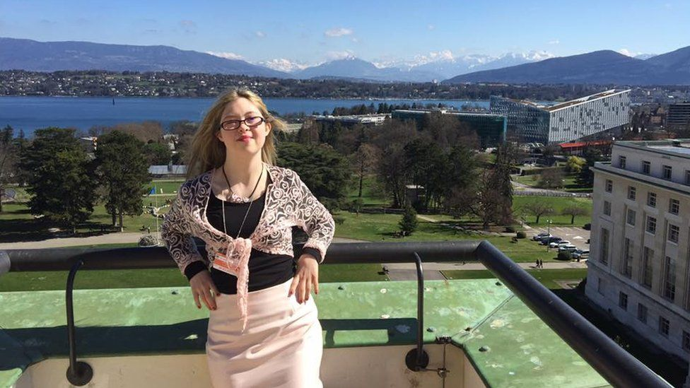 95252080 kathleeningeneva - Down's syndrome teenager addresses the UN in Geneva