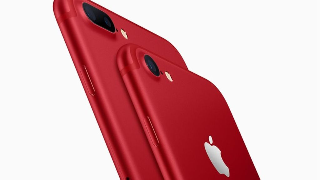 95253154 rediphone - Apple launches red iPhone 7 and video app