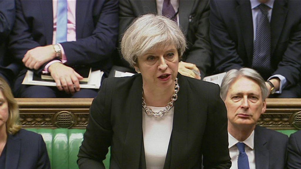 95290294 mediaitem95282942 - London attack: Theresa May tells MPs 'we'll never waver'