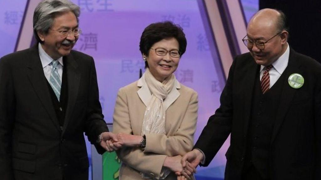 95293640 p04xsp61 - Hong Kong election: The nanny, Mr Pringles or the judge?