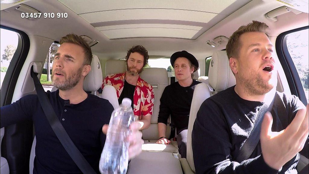 95313718 p04y00zz - Red Nose Day 2017: Carpool Karaoke with Take That