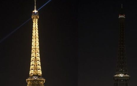 95319195 p04y1cxy - Earth Hour: Lights switched off around the globe