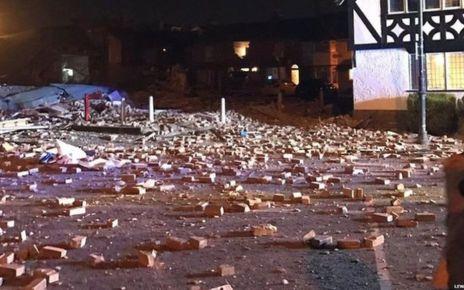 95320479 p04y15lv - Video shows Merseyside blast aftermath
