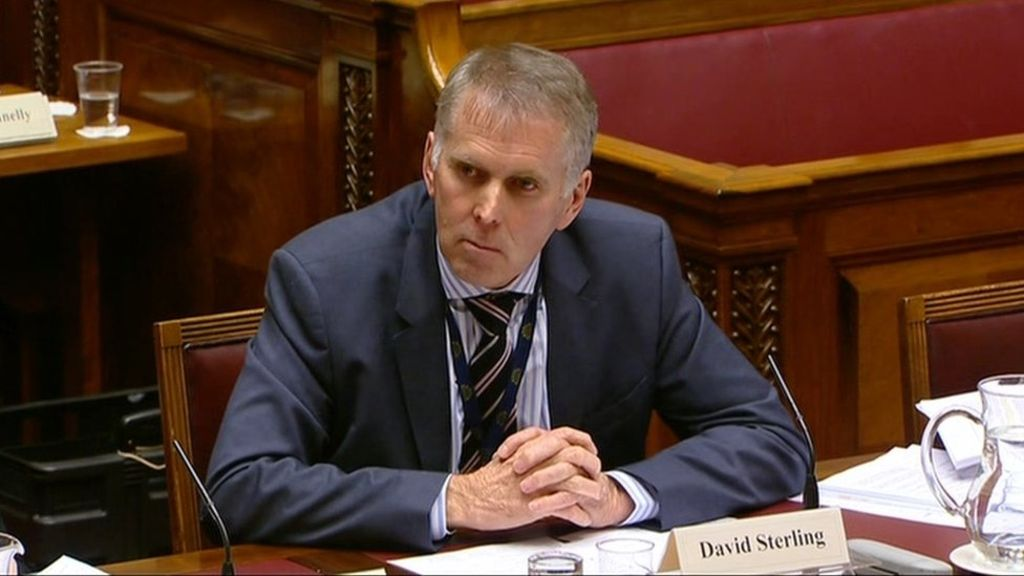 95341088 1sterling - Civil servant David Sterling takes over Stormont budget