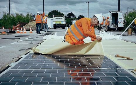 97258682 p05bw1lk - Could 'solar roads' help generate electricity?