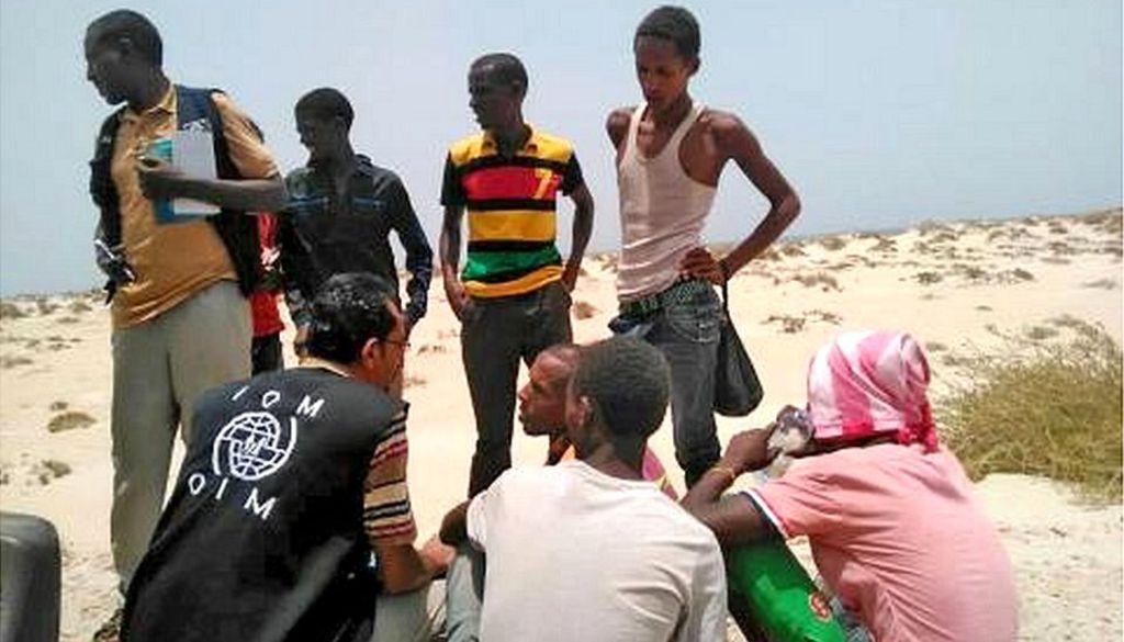 97275574 shabwah2 2 - Teenage migrants 'deliberately drowned' by smugglers in Yemen