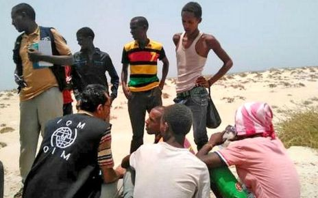 97275574 shabwah2 2 - Teenage migrants 'deliberately drowned' by smugglers in Yemen