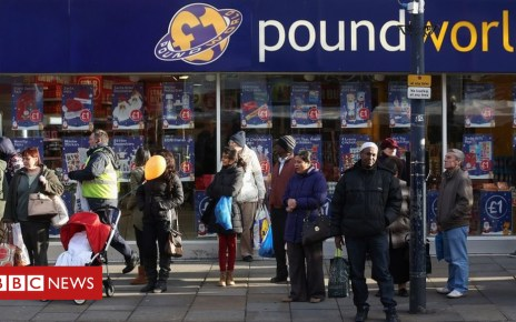 101055070 poundworld getty - Poundworld cuts 98 head office staff in Normanton