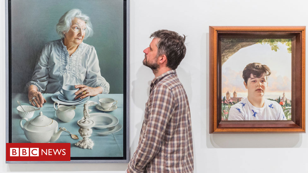101984200 winnerwall shutterstock - BP Portrait Award: Mum drinking tea picture wins top prize