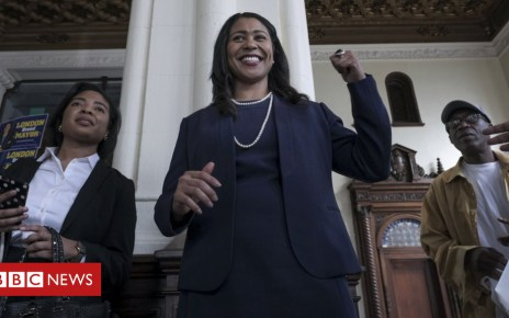 102012810 gettyimages 942532808 - London Breed becomes San Francisco's first black female mayor