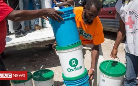 102044610 hi045128166 - Oxfam faces £16m of cuts after Haiti sex scandal