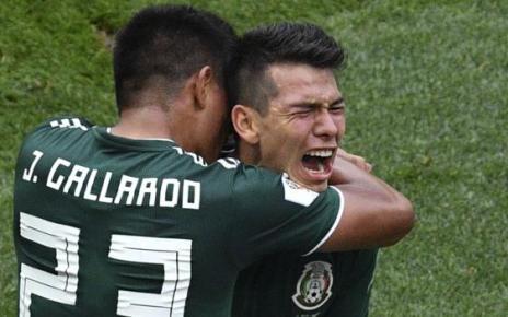 102086589 lozano getty - Brilliant Mexico stun champions Germany