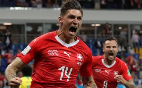 102087744 1index - World Cup 2018: Brazil held to 1-1 draw by Switzerland in Group E opener