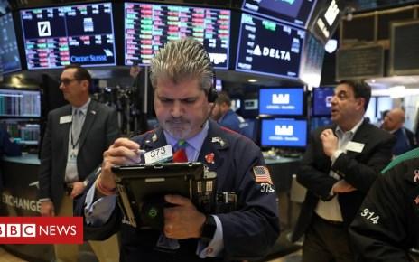 102113254 nysegettynew - Trump tariffs: Markets fall as trade war fears mount