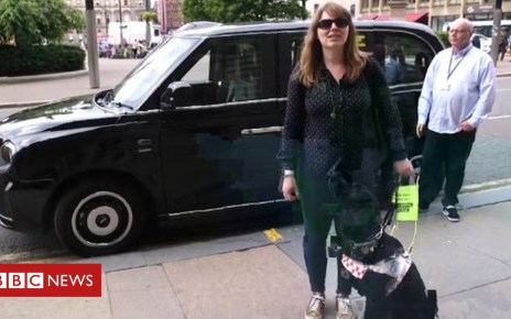 102123414 taxi - 'Refusing my guide dog is not just illegal, it's wrong'