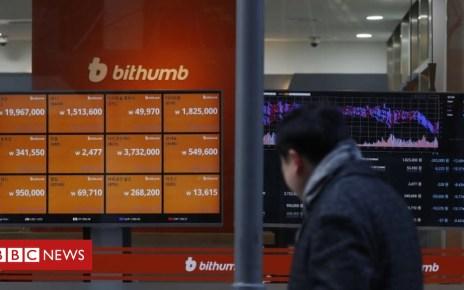 102125487 a55283c5 c9e3 4f37 a99d 87ee815e438e - Bithumb: Hackers 'rob crypto-exchange of $32m'