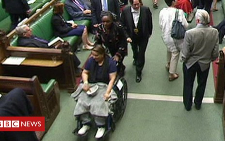 102142070 de27 1 - Naz Shah's wheelchair vote prompts calls for Commons reform
