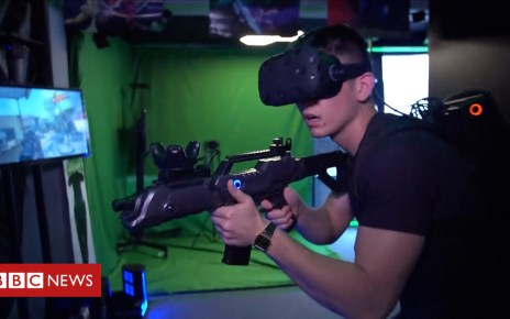 102191083 p06c1j9b - Virtual reality 'is not just for gamers'