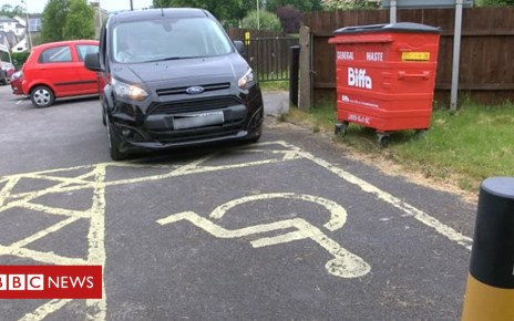 102207197 car2 - 14,000 fined for parking in disabled bays across Wales