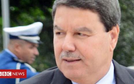 102225328 police afp - Algeria's powerful police chief Gen Abdelghani Hamel sacked