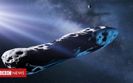 102225777 c0376803 asteroid oumuamua illustration spl - Interstellar visitor's identity solved