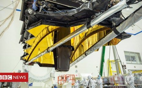 102227181 body - JWST: Launch of Hubble 'successor' slips again to 2021